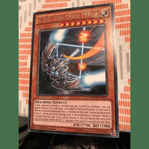 B.e.s. Big Core Mk-3 -macr-en032- Rare 1st Edition