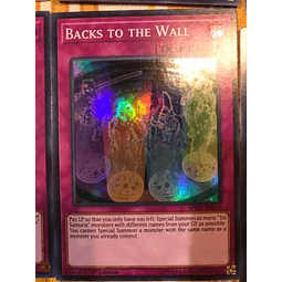 Backs To The Wall - spwa-en053 - Super Rare 1st Edition