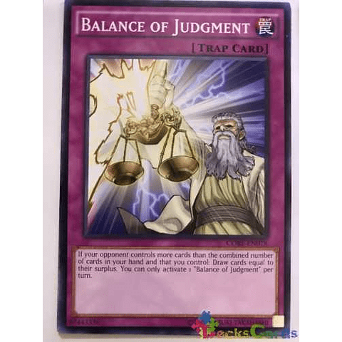 Balance Of Judgment - core-en078 - Common Unlimited