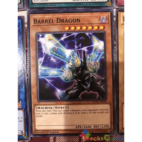 Barrel Dragon - led2-en019 - Common 1st Edition