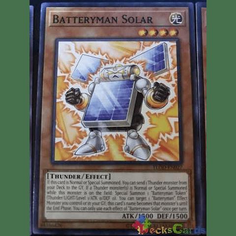Batteryman Solar -flod-en027- Common Unlimited