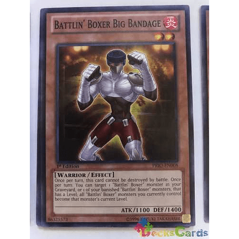 Battlin' Boxer Big Bandage - prio-en008 - Common 1st Edition