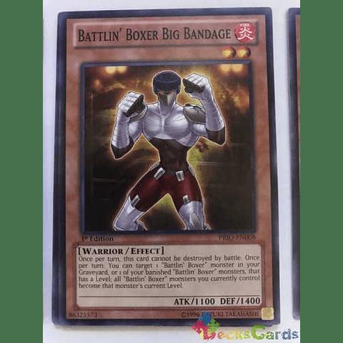 Battlin' Boxer Big Bandage -prio-en008- Common 1st Edition