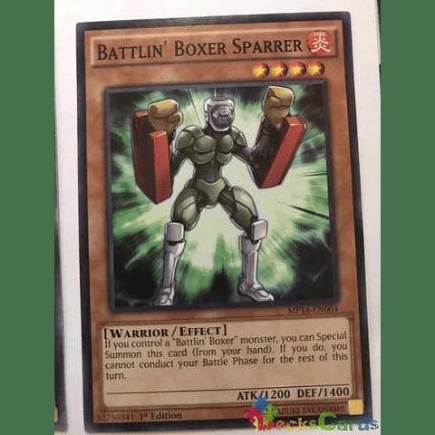 Battlin' Boxer Sparrer -mp14-en004- Common 1st Edition
