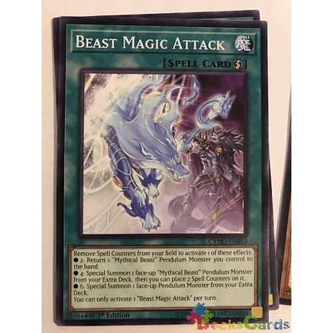Beast Magic Attack - cyho-en063 - Common 1st Edition