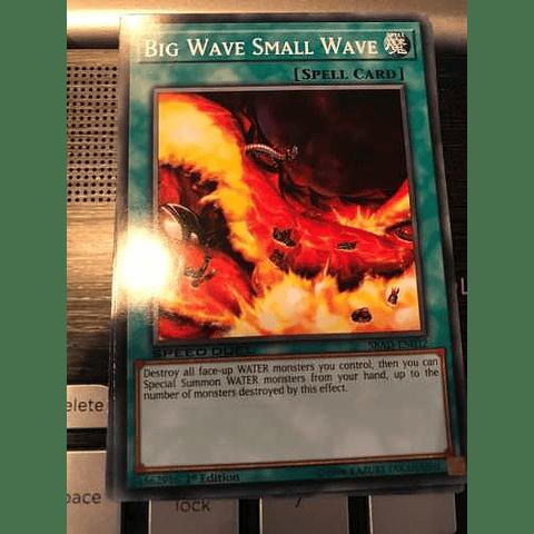 Big Wave Small Wave -sbad-en032- Common 1st Edition