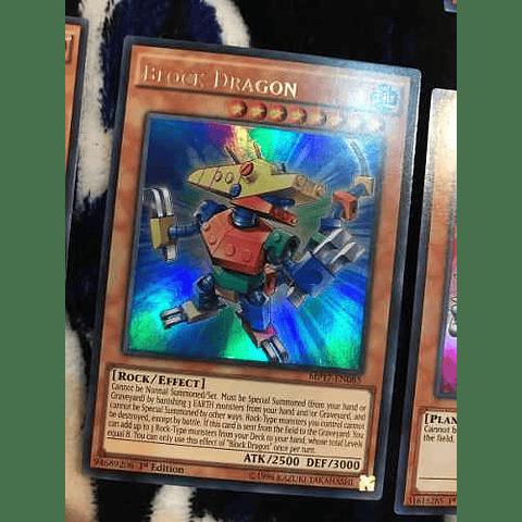 Block Dragon -mp17-en085- Ultra Rare 1st Edition