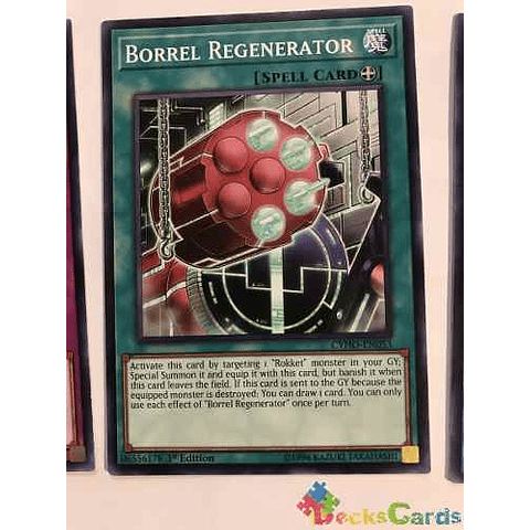 Borrel Regenerator - cyho-en053 - Common 1st Edition