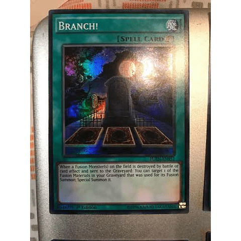 Branch! - fuen-en052 - Super Rare 1st Edition