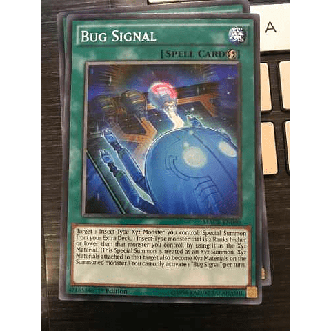 Bug Signal -macr-en060- Common 1st Edition