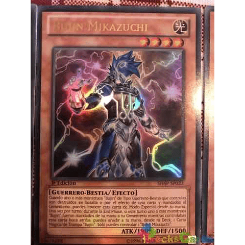 Bujin Mikazuchi -shsp-en022- Ultra Rare 1st Edition