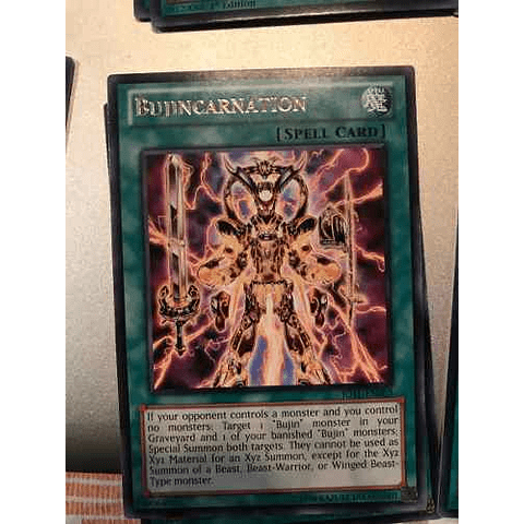 Bujincarnation -jotl-en063- Rare 1st Edition
