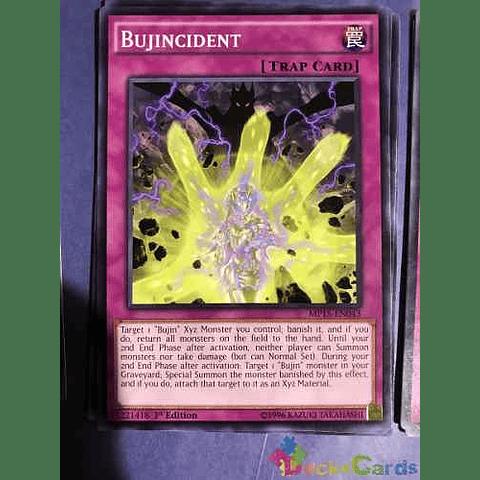 Bujincident -mp15-en043- Common 1st Edition