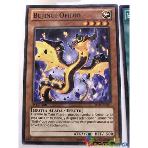 Bujingi Ophidian - jotl-en021 - Common 1st Edition