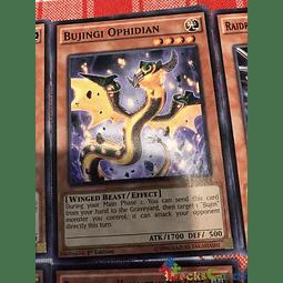 Bujingi Ophidian -mp14-en074- Common 1st Edition