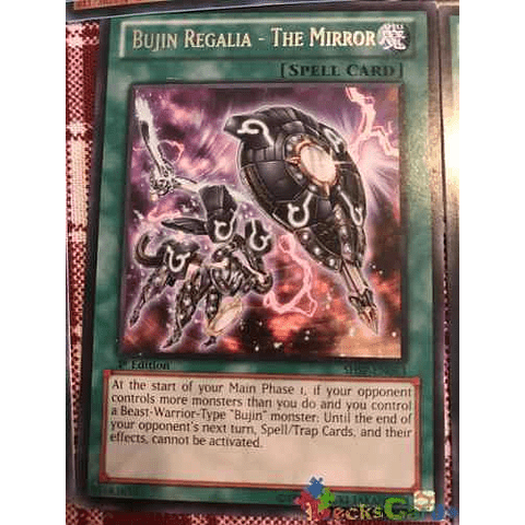 Bujin Regalia - The Mirror -shsp-en063- Rare 1st Edition