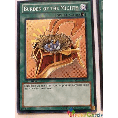 Burden Of The Mighty - ys12-en028 - Common 1st Edition