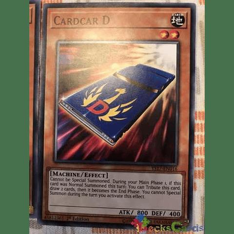 Cardcar D - ys17-en016 - Common 1st Edition