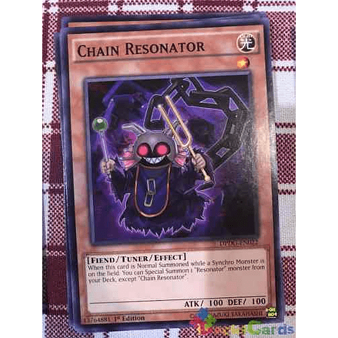 Chain Resonator -dpdg-en022- Common 1st Edition