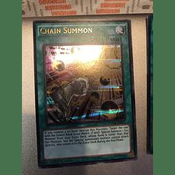 Chain Summon -dusa-en011- Ultra Rare 1st Edition
