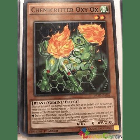 Chemicritter Oxy Ox -inov-en025- Common 1st Edition