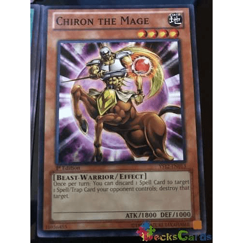 Chiron The Mage - ys12-en013 - Common 1st Edition