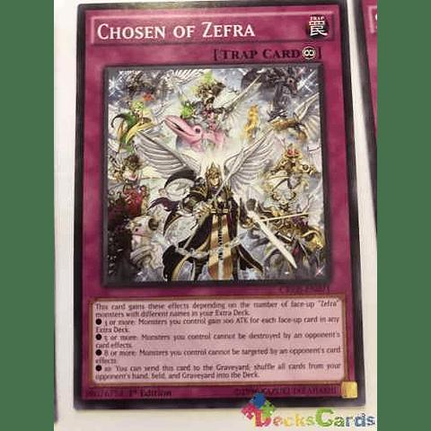 Chosen Of Zefra -cros-en071- Common 1st Edition