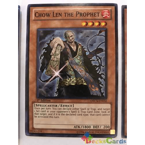 Chow Len The Prophet - orcs-en032 - Common 1st Edition