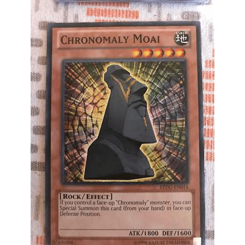 Chronomaly Moai - redu-en014 - Common Unlimited