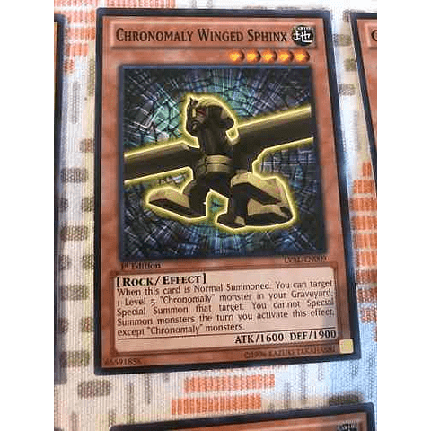 Chronomaly Winged Sphinx - lval-en009 - Common 1st Edition