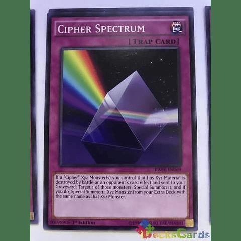 Cipher Spectrum -rate-en069- Common 1st Edition
