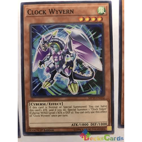 Clock Wyvern - mp19-en152 - Common 1st Edition