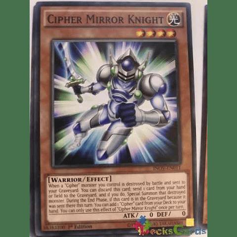 Cipher Mirror Knight -inov-en011- Common 1st Edition