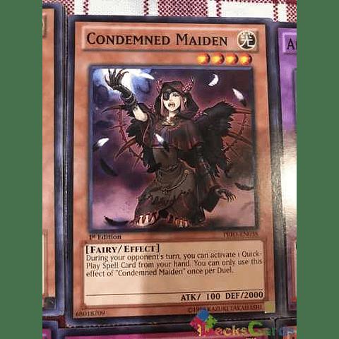Condemned Maiden -prio-en038- Common 1st Edition