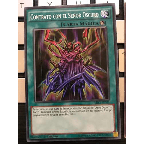 Contract With The Dark Master -mil1-en021- Common 1st Edit