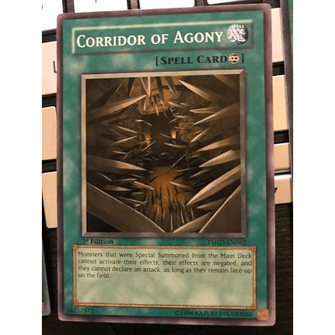 Corridor Of Agony - tshd-en062 - Common 1st Edition