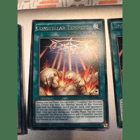 Constellar Tempest -inov-en091- Rare 1st Edition