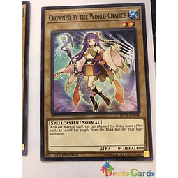 Crowned By The World Chalice - mp18-en044 - Common 1st Editi