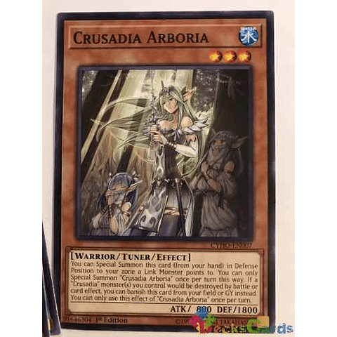 Crusadia Arboria -cyho-en007- Common 1st Edition