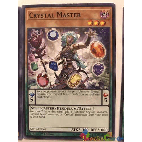 Crystal Master - mp19-en065 - Common 1st Edition