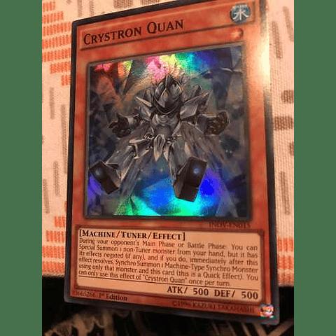 Crystron Quan -inov-en015- Super Rare 1st Edition