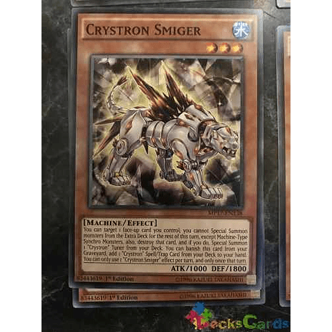 Crystron Smiger - mp17-en138 - Common 1st Edition