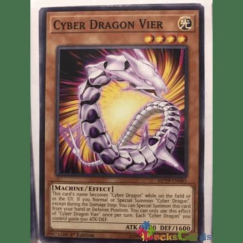 Cyber Dragon Vier -mp19-en085- Common 1st Edition