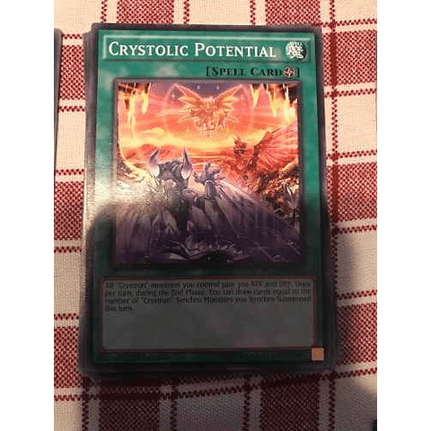 Crystolic Potential -inov-en057- Common 1st Edition