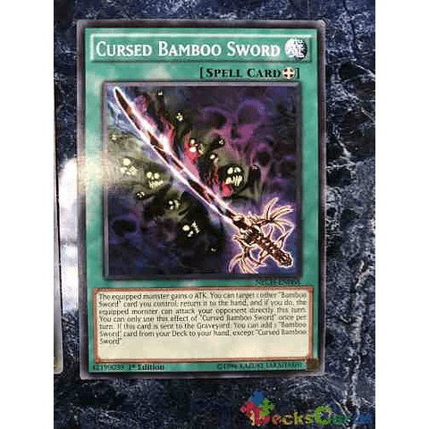 Cursed Bamboo Sword - nech-en068 - Common 1st Edition