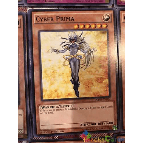 Cyber Prima - dpdg-en009 - Common 1st Edition