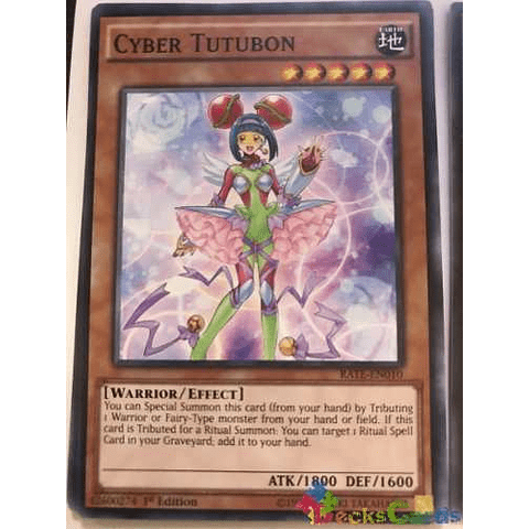 Cyber Tutubon - rate-en010 - Common 1st Edition