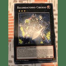 Cyberse Reminder -dane-en040- Common 1st Edition