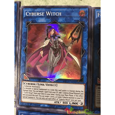 Cyberse Witch - mp19-en098 - Super Rare 1st Edition