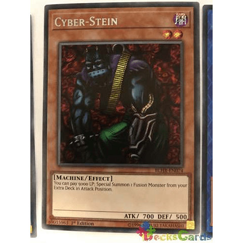 Cyber-stein - blhr-en074 - Secret Rare 1st Edition
